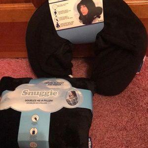 snuggie Other - Snuggie blanket & neck pillow